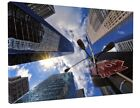 STUNNING NEW YORK CITY BUILDINGS SIGN CANVAS PICTURE PRINT #2939