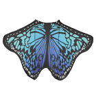 Colorful Soft Fabric Butterfly Wings Cape Fairy Ladies Nymph Pixie Costume