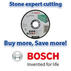 Bosch 115mm EXPERT STONE / BRICK Cutting Discs | Angle Grinder  | Multi Listing
