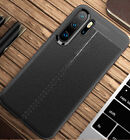 For Huawei P20 Pro Lite 3E Shockproof Rubber TPU Leather Slim Back Case Cover