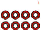 8PCS/ Set Skateboard Bearings ABEC 7 / ABEC 9 Hocker Wheel Steel Hot Sell-bh