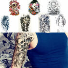 Large Temporary Tattoo Arm Body Art Removable Waterproof Tattoo Sticker use $1.12 USD on eBay