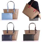 NWT Michael Kors CANDY Large Reversible Tote with Pouch in Various Colors
