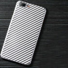 Shockproof Ultra Thin Carbon Fiber Back Hybrid Case Cover for iPhone Xs Max 8 7+