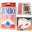 Jumbo Playing Cards Deck Extra Large Cards Giant Playing Cards Pack of 52 Large