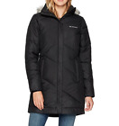 COLUMBIA WOMENS PLUS SIZE 3X SNOW ECLIPSE LONG FAUX DOWN INSULATED WINTER JACKET