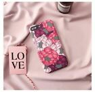 Blooming lily peony phone Cases For iphone 6 6s 6plus 7 7Plus Scrub floral hard