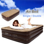 double bed couch - Double Single Queen Air Bed Inflatable Airbed Mattress Couch Sleep Rest Mat