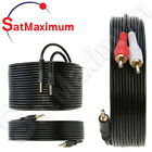 Kyпить 3.5mm AUDIO CABLE AUX 3.5 mm to Dual RCA Stereo 3FT 6FT 10FT 25FT 50FT 100FT LOT на еВаy.соm