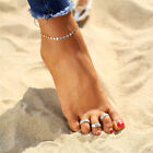 BOHO FESTIVAL BEACH HOLIDAY SET OF 3 TOE RINGS ADJUSTABLE TO FIT MOST UK SELLER