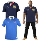 Duke D555 Mens Big King Size Judd Short Sleeve Rugby Shirt Collared Polo Tops