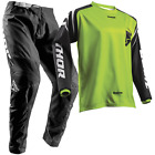 New THOR MX 2018 SECTOR ZONES LIME Adult Motocross Jersey & Pants Outfit Moto MX