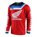 New TROY LEE DESIGNS Racing MX PRISMA HONDA RED Adult Motocross Jersey TLD Moto
