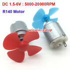 Внешний вид - Small Mini R140 Motor DC 1.5V-6V 20000RPM High Speed Motor DIY Toy Fan Car Model