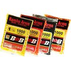 Airsoft Gun BB 0.12 Gram 6 mm BB's Pellets Ammo 1000-20000 Exactly 1000 per Bag