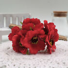 1Pc New Artificial Silk Poppy Flower Bunch Boeket DIY Art Home Garden Decor pop