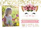 Cat, Kitten, Kitty, Birthday Party Invitation,Girl, Gold - Printable or Printed