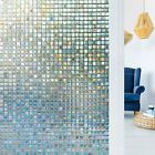 RABBITGOO 3D window films privacy mosaic static cling Anti UV for home & office