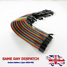 M-M Dupont Jumper Cable Breadboard Wire Ribbon 20cm 2.54mm 40 Pin Connector D61