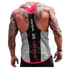 US STOCK Men Workout Bodybuilding Vest Tank Top Gym Muscle Fitness Shirt Singlet <br/> ❤100%BUYER SATISFACTION❤HIGH QUALITY❤FAST SHIPPING❤