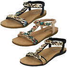 Ladies F0R0063 Summer Sandals By Savannah Collection £14.99