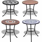 Mosaic Bistro Table 60cm Garden Patio Balcony Cafe Outdoor Indoor Stone Colors