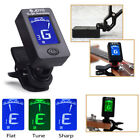 LED Clip-on Electronic Digital Guitar Tuner Chromatic Ba ss Violin Ukulele CLAMP
