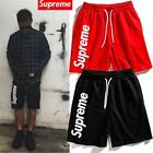 18ss Mens shorts side printing supreme shorts