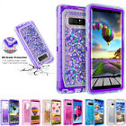 For Samsung Galaxy S8/S9/Plus/S9 + Quicksand Glitter Liquid Clear Tpu Case Cover