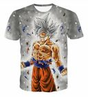 tee 3d - HOT 3D Print T-shirt Dragon Ball Super Goku New Transformation Ultra Instinct US