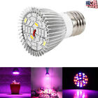 1-10X 28W Full Spectrum E27 Led Grow Light Growing Lamp Bulb Hydroponics Plant