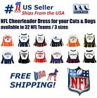 NFL Cheerleader Outfit for Dogs/Cats. 32 Football Teams, 3 Sizes. Licensed, NEW! $26.99 USD on eBay