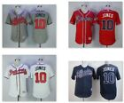 NWT Chipper Jones #10 Atlanta Braves Mens Flex Base Collection Jersey Home/Away on Ebay