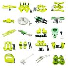 Aluminum Alloy Parts For 1/12 WLtoys 12428 12423 RC Car Upgrade Parts green NEW