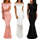 Women Formal Wedding Bridesmaid Long Evening Party Ball Prom Gown Cocktail Dress $13.99 USD on eBay