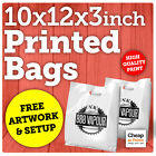 Plastic Carrier Bags | X-Small Polythene Bag with Custom Personalised Printing