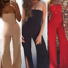 Summer Women Sleeveless Bodycon Jumpsuit Ladies Evening Party Romper Trousers US
