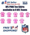 NFL Pink Tee Shirts for DOGS & CATS - 9 NFL Teams & 4 Sizes Available. NEW Tee's $9.99 USD on eBay