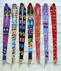 Mickey and Minnie Lanyards Neck Strap for ID Pass Badge Keys Whistle Phone  Gift