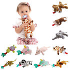 Kyпить Baby Dummy Pacifier Chain Clip Soft Cute Plush Animal Toy Soother Nipples Holder на еВаy.соm