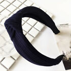 Women Headband Twist Hairband Bow Knot Cross Tie Velvet Headwrap Hair Band Hoop