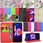 For Huawei Honor 10 COL-AL00 - Wallet Leather Case Flip Cover + Screen Guard