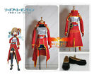 Sword Art Online Silica Keiko Ayano Full Set Cosplay Costume Shoes Boots
