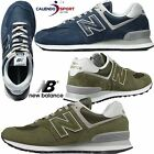 SCARPA NEW BALANCE ML574 BLU VERDE UOMO CLASSICS TRADITIONEELS