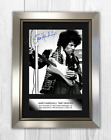 Jimi Hendrix (2) A4 signed mounted photograph picture poster. Choice of frame.