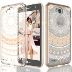 For LG X Charge/X Power 2/Fiesta LTE/K10 Power/LV7 Pattern Clear Ultra Slim Case