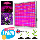 120W led grow lights indoor hydroponic veg plants flower seed growing panel lamp