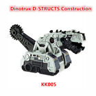 Free shipping Mattel DreamWorks DinoTrux dinosaur metal construction toy truck