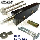 Enfield Garage Door Bolts Locks Singles R/H Or L/H LONG Key High Security MK3