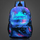 20L Fortnite Battle Royale Backpack Rucksack GLOW IN DARK School Bag